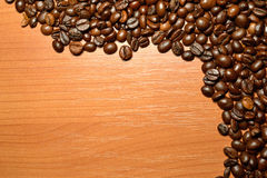 Feijões de Coffe imagem de stock