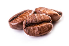 Feijões de Coffe Fotografia de Stock Royalty Free