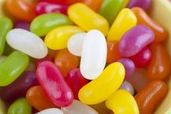 Feijões de geléia (doces) Fotografia de Stock Royalty Free