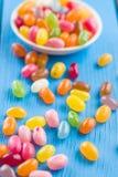 Feijões de geleia doces Fotos de Stock Royalty Free