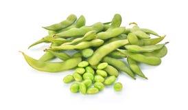 Feijões de soja verdes Fotografia de Stock Royalty Free