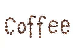 Feijões do café Fotos de Stock