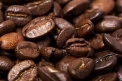 Feijões do cofee. Fundo Fotos de Stock Royalty Free
