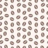 Feijões fundo do offee do ¡ de Ð, textura do café Ilustração do Vetor