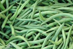 Feijões verdes Fotos de Stock
