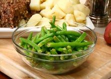 Feijões verdes foto de stock