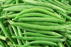 Feijões verdes franceses Fotos de Stock
