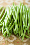 Feijões verdes frescos Foto de Stock