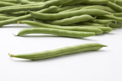 Feijões verdes ou feijões franceses Imagens de Stock