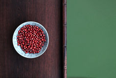 Feijões vermelhos Fotografia de Stock Royalty Free