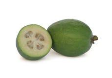 Feijoa (de Guave van de Ananas) Stock Afbeeldingen