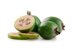 Feijoa della frutta tropicale Fotografia Stock
