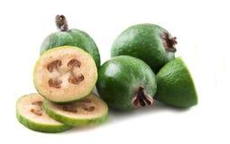 Feijoa della frutta tropicale Fotografie Stock