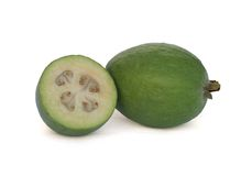 Feijoa (Pineapple Guava) Stock Images