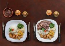 Feijoada, бразильская традиция кухни Стоковая Фотография