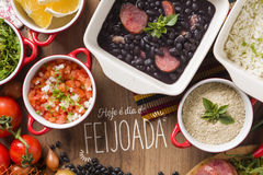 Feijoada. The Brazilian cuisine tradition stock photography
