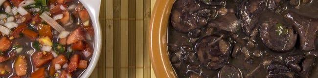 Feijoada brazilian traditional food Stock Images