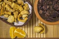 Feijoada brazilian traditional food Royalty Free Stock Photos