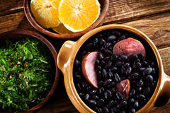 Feijoada, Brazilian traditional meal. Royalty Free Stock Images