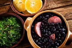 Feijoada, Brazylijski tradycyjny posiłek. obrazy royalty free