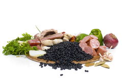 Feijoada Ingredients Stock Images