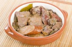 Feijoada Meat Stock Photo