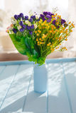 Feild flowers Royalty Free Stock Image
