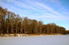 Feine Landschaft vom Fluss lizenzfreie stockfotografie