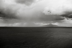 Feiner Art Volcanic Storm lizenzfreie stockfotos