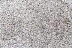 Feiner Sand auf einem Strand Lizenzfreie Stockbilder