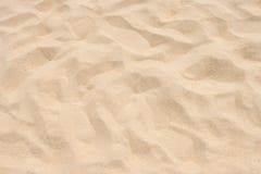 Feiner Strandsand in der Sommersonne Stockfoto