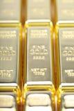 Feines Gold 999.9. Lizenzfreie Stockfotos