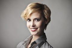 Feines Lächeln Stockfotografie