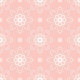 Feines nahtloses Vektor-mit Blumenmuster Lizenzfreie Stockbilder