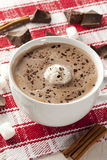 Feinschmeckerische heiße Schokolade Lizenzfreies Stockbild