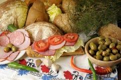 Feinschmeckerische Nahrung stockfotografie