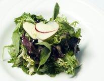 Feinschmeckerischer Mesclun Salat 2 Stockfotos