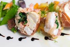 Feinschmeckerisches Fischfutter lizenzfreie stockbilder