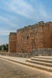 Feinte d'Al de Bosra de mur de fort Photographie stock