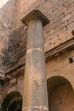 Feinte en pierre d'Al de Bosra de colonne Photo libre de droits
