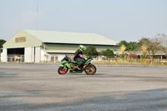 Feira automóvel das alterações no 4o aniversário de Flushstyle tailandês Imagens de Stock Royalty Free