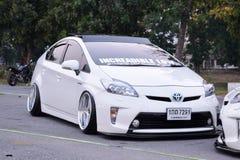 Feira automóvel das alterações no 4o aniversário de Flushstyle tailandês Foto de Stock