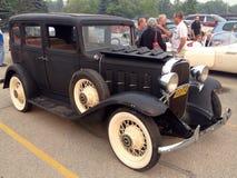 Feira automóvel de carros clássicos e retros Fotografia de Stock