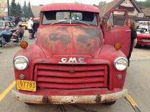 Feira automóvel de carros clássicos e retros Foto de Stock Royalty Free