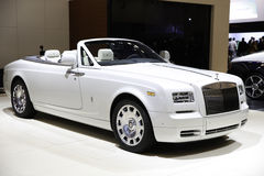 Rolls royce apresentou na feira automóvel de New York Fotos de Stock