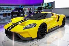 Feira automóvel internacional 2016 de New York, EUA Imagem de Stock Royalty Free