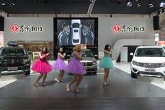A feira automóvel internacional do sexto ` da mola de Mianyang do ` aberta Fotografia de Stock Royalty Free