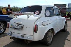 Feira automóvel retro imagens de stock