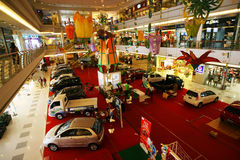 Feira automóvel Imagem de Stock