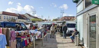 Feira comercial ao ar livre Foto de Stock
